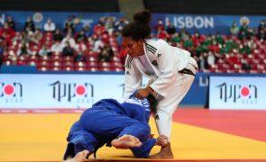 Wilsa Gomes eliminada pela francesa Sarah Leonie Cysique nos Europeus de judo