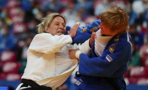 Telma Monteiro vence e apura-se para as meias-finais nos -57 kg nos Europeus de judo
