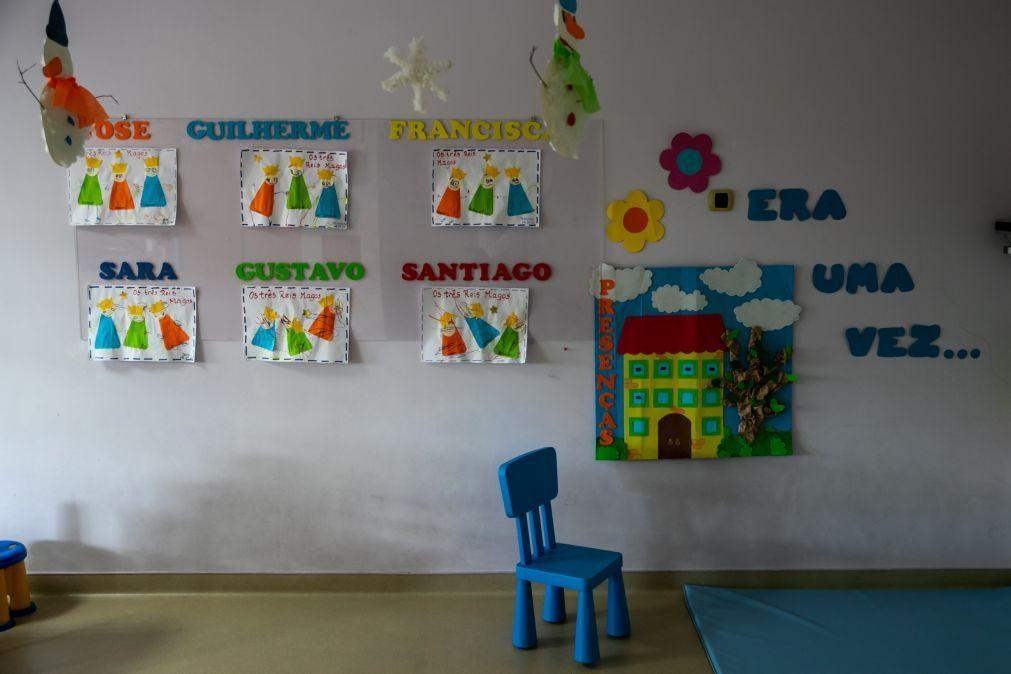 Todas as crianças de famílias até 2.º escalão de rendimentos com creche gratuita