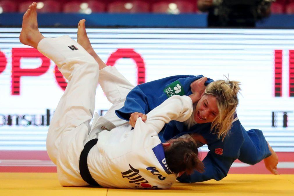 Telma Monteiro garante medalha ao apurar-se para a final nos -57 kg