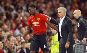 Pogba recorda relação muito boa com Mourinho que