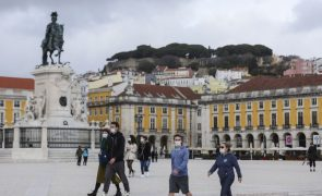 Covid-19: Lisboa e Vale do Tejo é a única região do país com Rt inferior a 1