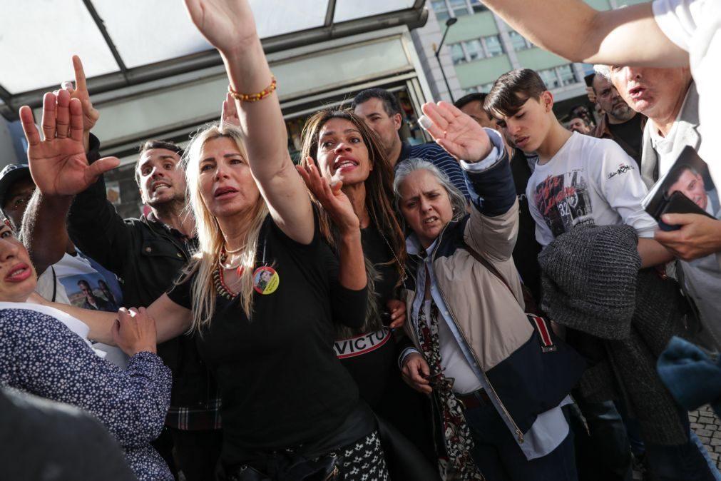 Vários detidos em manifestação de apoio a juiz negacionista em Lisboa