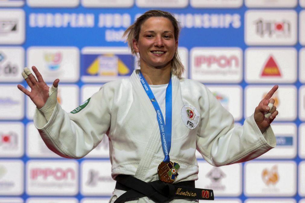 Judo/Europeus: Telma Monteiro aponta força mental como trunfo de nova conquista