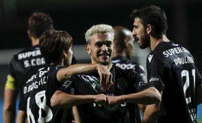 Sporting regressa às vitórias em Faro com golo 17 de Pedro Gonçalves