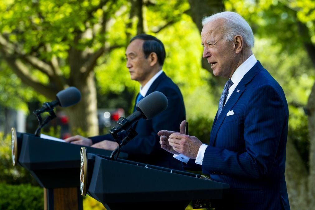 EUA e Japão comprometem-se a trabalhar juntos para enfrentar 'desafios' da China