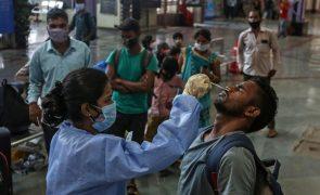 Covid-19: Índia com recorde de 234.692 novas infeções nas últimas 24 horas