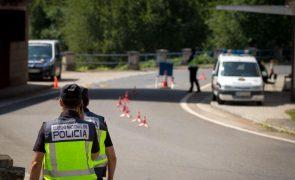 Covid-19: Espanha prolonga até 1 de maio controlo na fronteira com Portugal