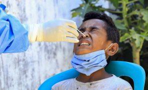Covid-19: Mais 43 casos nas últimas 24 horas em Timor-Leste