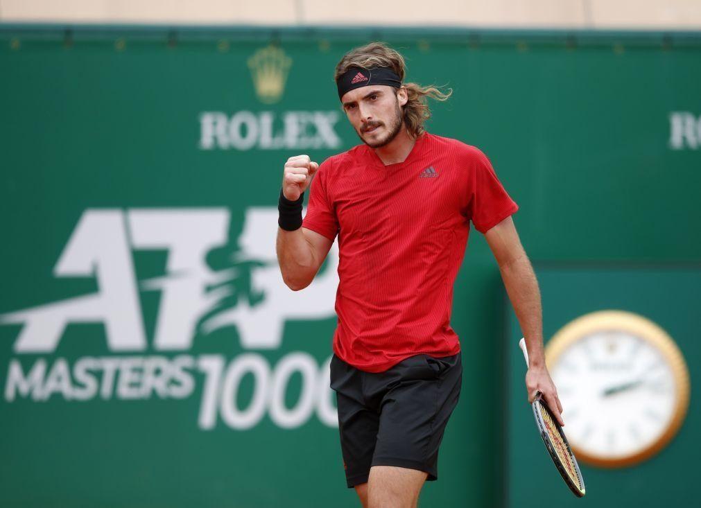 Tsitsipas defronta Rublev na final do Masters 1.000 de Monte Carlo em ténis