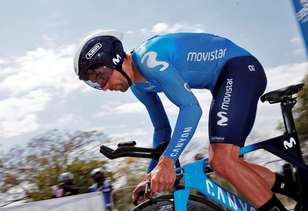 Ciclista Nélson Oliveira fica a seis segundos da amarela em Valência