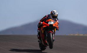 MotoGP/Portugal: Miguel Oliveira admite não estar