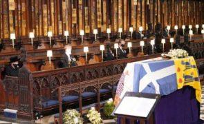 As imagens mais marcantes do funeral do príncipe Filipe