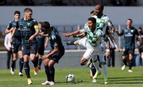 Tondela vence Moreirense com 'hat-trick' de Mario González