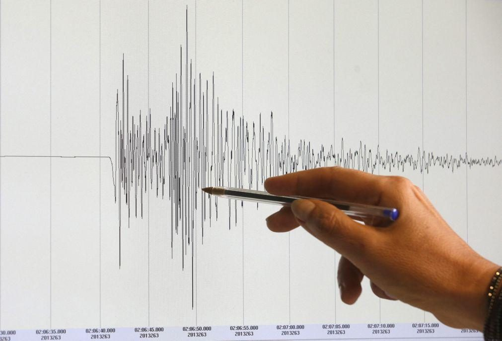 Sismo de magnitude 2.7 sentido hoje perto de Ourém