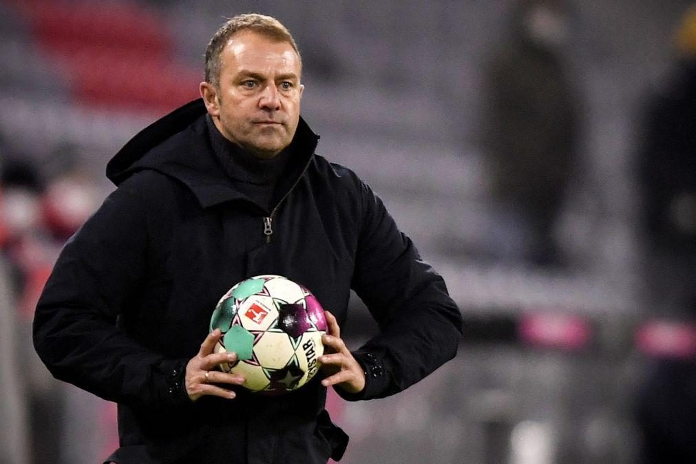 Hansi Flick vai deixar de treinar o Bayern Munique no final da época