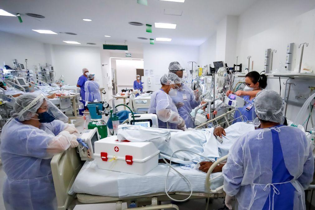 Covid-19: Brasil com falta de medicamentos para pacientes ventilados