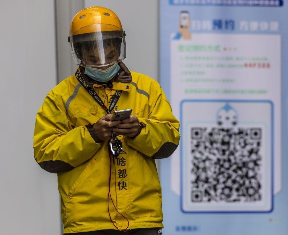 Covid-19: China soma 16 casos importados em 24 horas
