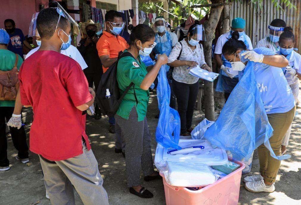 Covid-19: Mais 70 novos casos nas últimas 24 horas em Timor-Leste