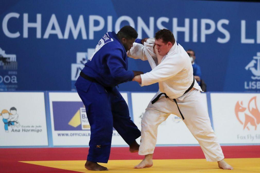 Vasco Rompão eliminado ao primeiro combate em +100 kg nos Europeus de judo