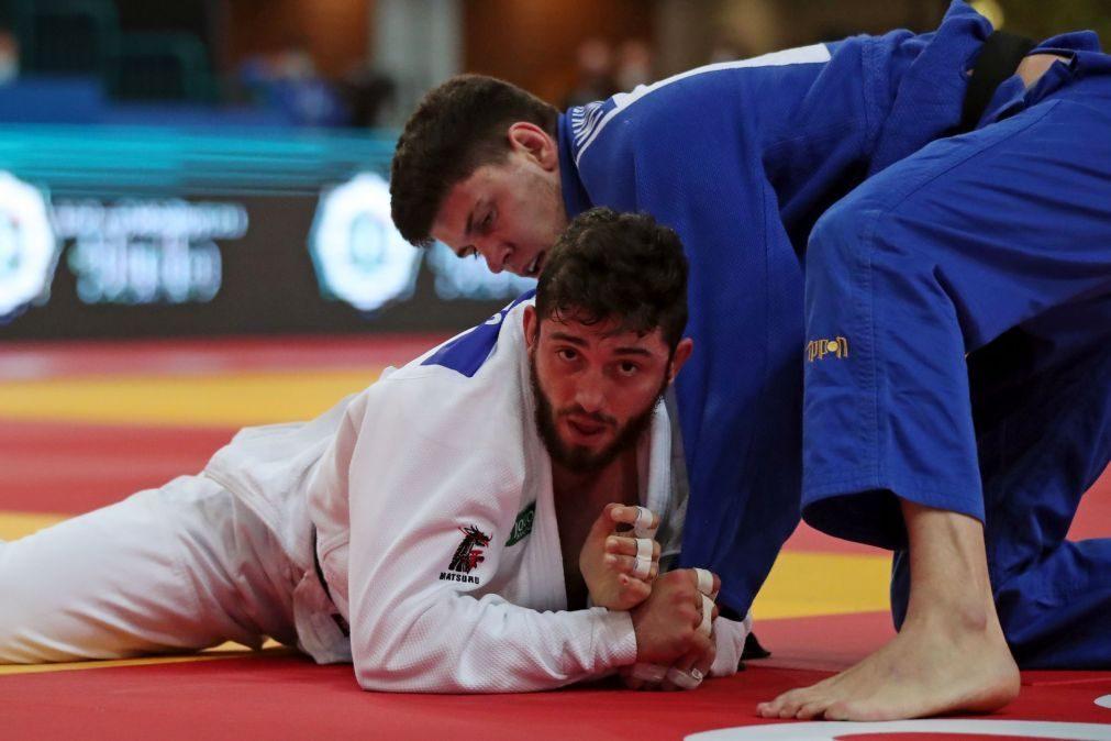 Diogo Brites eliminado no prolongamento do primeiro combate em -100 kg nos Europeus de judo