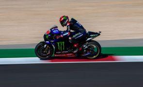 MotoGP/Portugal: Fabio Quartararo vence em dia de queda para Miguel Oliveira