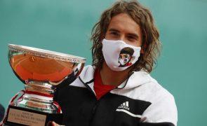 Tsitsipas bate Rublev e conquista primeiro título Masters 1.000 em Monte Carlo