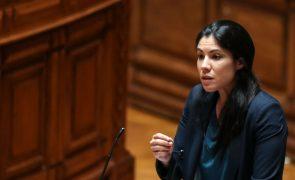 Deputada Joana Mortágua candidata do BE à Câmara de Almada