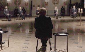 Covid-19: Alemanha presta homenagem nacional aos mortos e apela à unidade