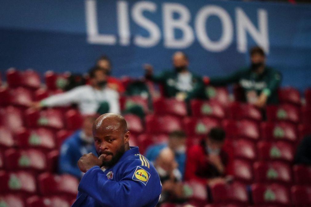 Jorge Fonseca frustrado com sétimo lugar e arbitragem nos europeus de judo