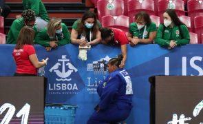 Rochele Nunes conquista medalha de bronze em +78 kg nos europeus de judo