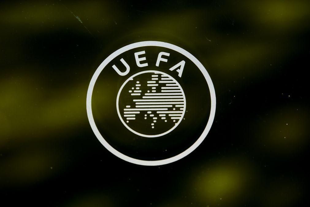 UEFA excluirá todos os clubes que participem na Superliga europeia