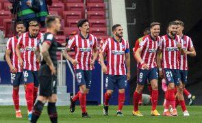 Atlético de Madrid segura liderança em Espanha com goleada ao Eibar