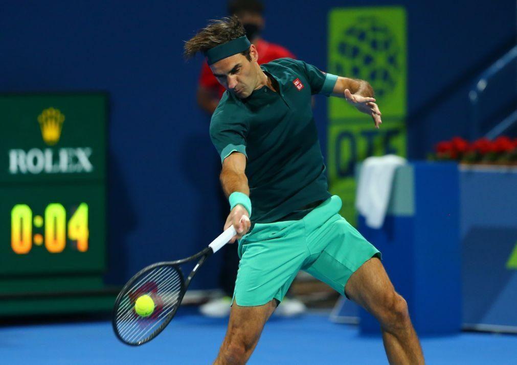 Federer desiste do Masters 1.000 de Madrid e jogará em Genebra e Roland Garros