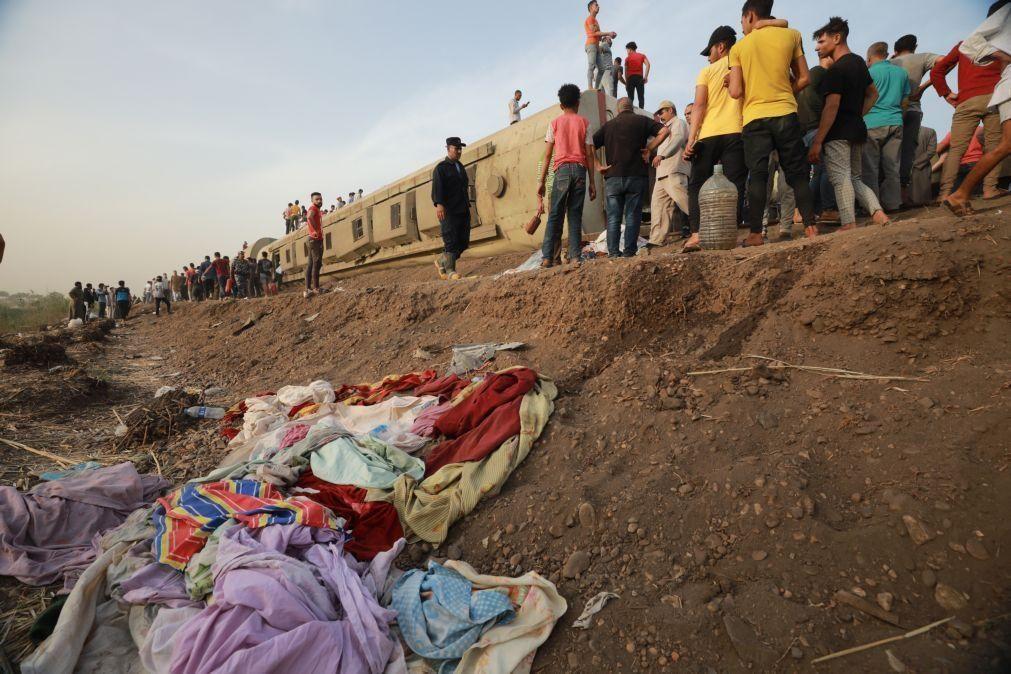 Acidente ferroviário causa pelo menos 11 mortos no Egito