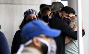 Covid-19: EUA com 335 mortos e 42.470 casos nas últimas 24 horas