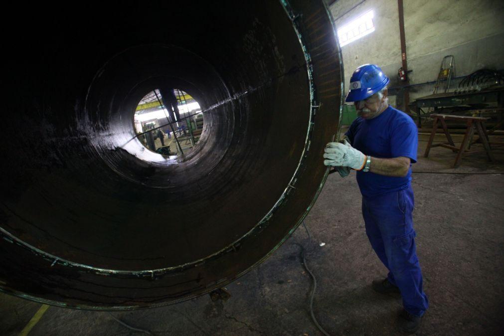 Metalurgia e metalomecânica devem exportar mais 10% em 2021 para cerca de 19.000 ME