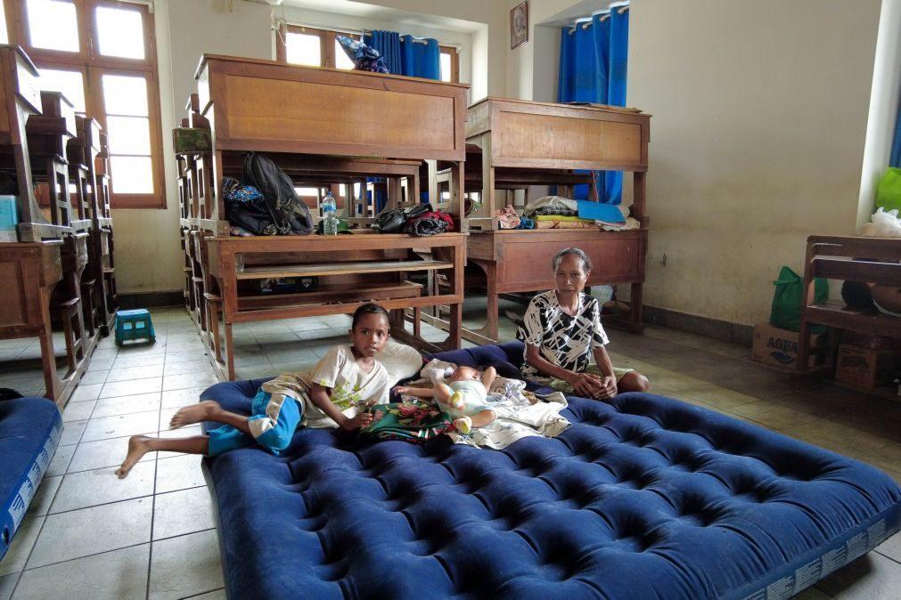 Timor-Leste/Cheias: Crianças em centros de acolhimento beneficiam de atividades lúdico-pedagógicas