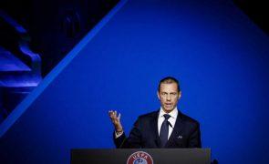 Presidente da UEFA diz que Superliga é