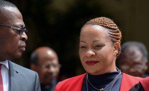 Moçambique/Ataques: Ministra da Justiça defende tribunais específicos para julgar crimes de guerra