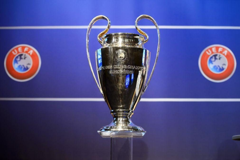 Liga dos Campeões com 36 equipas sem grupos a partir de 2024