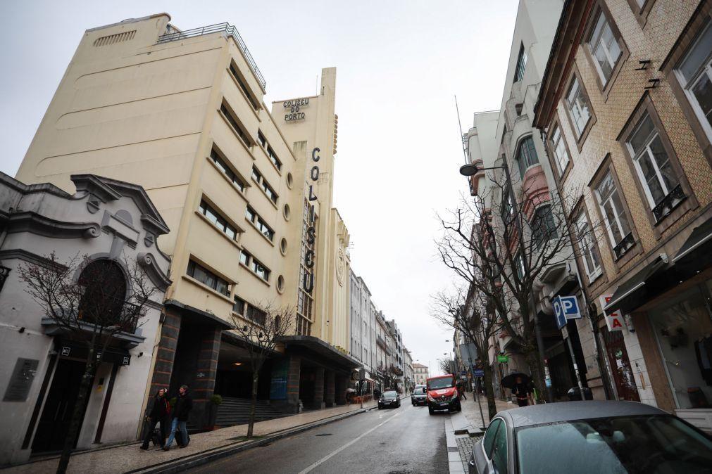 Governo e Câmara do Porto vão custear obras de 3,5ME do Coliseu e suspender concessão
