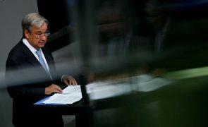 Guterres pede ano de ação contra alterações climáticas, que já custam demais