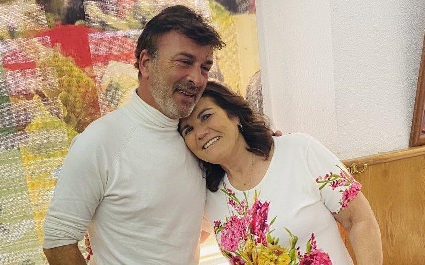 Dolores Aveiro encontra-se com Tony Carreira e deixa mensagem emocionante