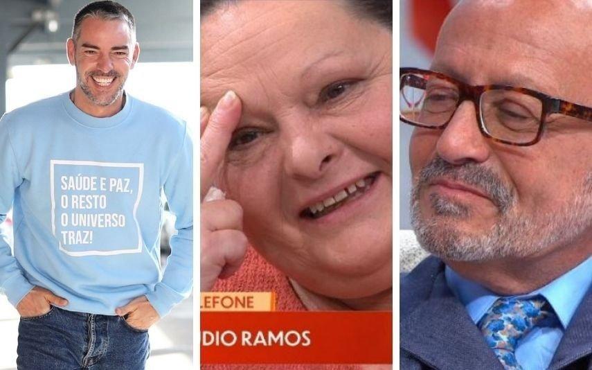 Cláudio Ramos deixa Manuel Luís Goucha em lágrimas. Saiba porquê