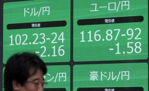Bolsa de Tóquio fecha a perder 1,97%