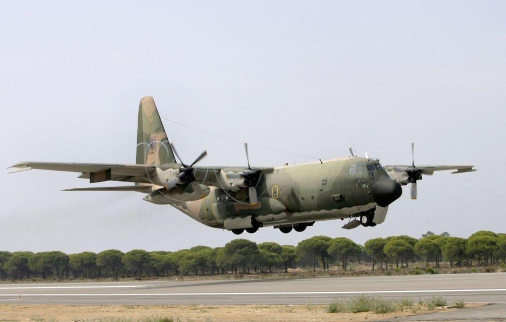 Modernização de aviões C-130 com atraso