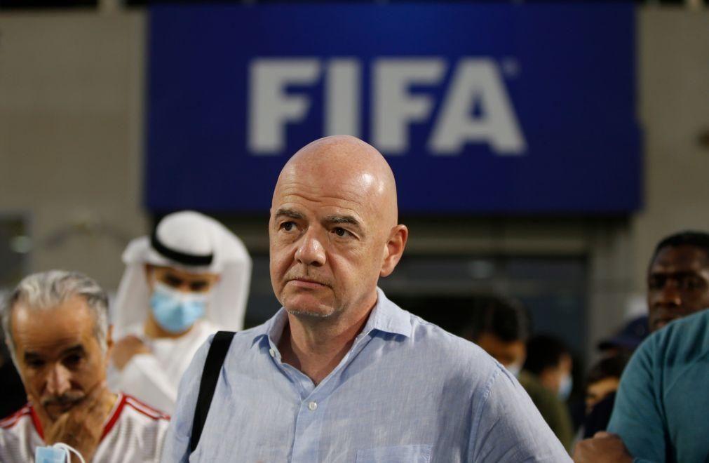 Superliga: FIFA ameaça clubes e diz que têm de viver com as «suas escolhas»