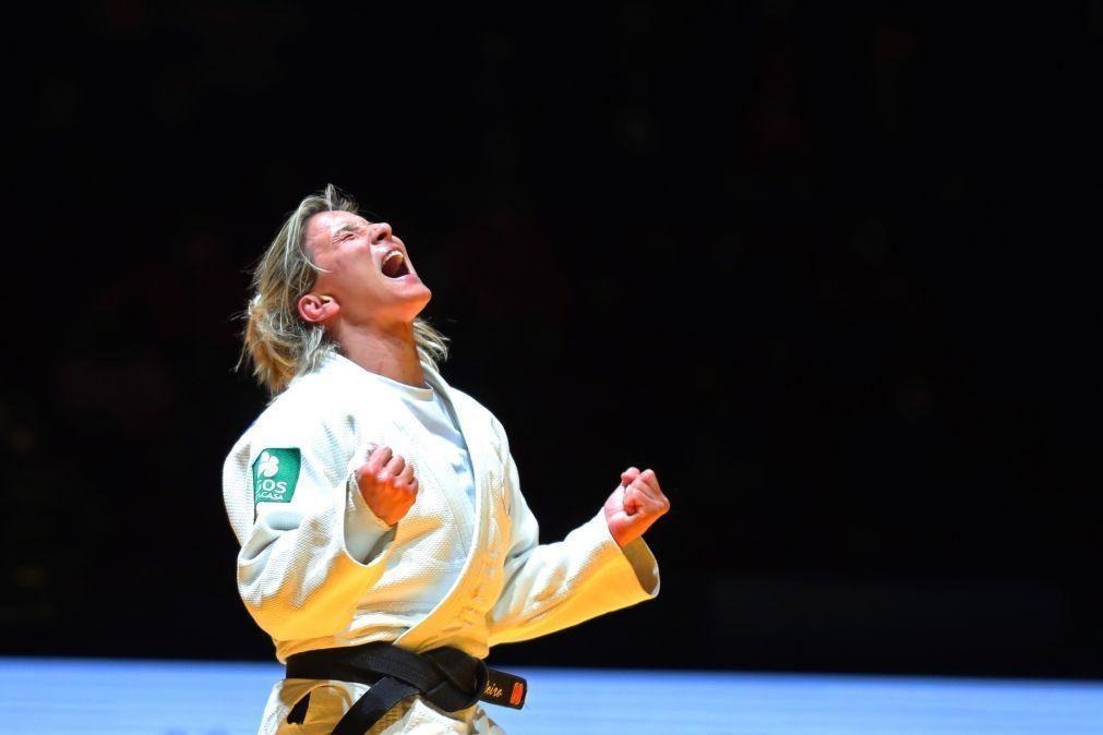 Tóquio2020: Judoca Telma Monteiro sobe no 'ranking' à boleia do título europeu