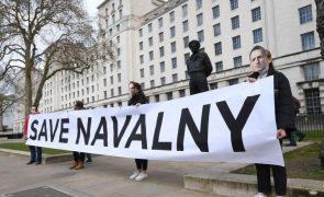 Navalny: Autoridades proibem manifestação coincidente com discurso de Putin